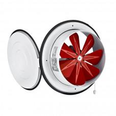 Вентилятор Bahcivan BK 250 осевой с крышкой (890 m³/h)