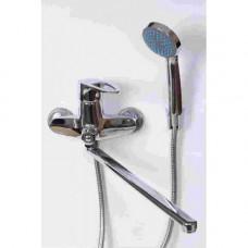 Смеситель DIVINO D2221 д/ванны шар.переключ.на корпусе.изливом 400мм