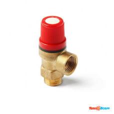 Клапан предохранительный 1/2 В-Н (3 бар) Damento Clima