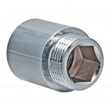Удленитель 3/4*15 мм Хром VALTEC