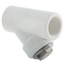 Фильтр сетчатый 25 вн/вн ТВ  белый