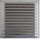 1212МЦ Решетка вентиляционная вытяжная стальная с оцинкованным покрытием 125х125