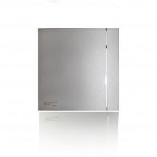 (Soler & Palau) Вентилятор накладной SILENT-200 CHZ SILVER DESIGN-3C с таймером и датчиком влажности