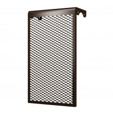 Решетка на чугунную батарею 5-х секционный коричневый