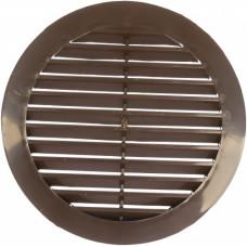 10РКН Кор.Решетка наружная вентиляционная круглая  с фланцем D100