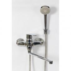 Смеситель DIVINO D2210 д/ванны шар.перекл.на корп.,изл.350мм