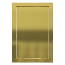 Лючок пластиковый Л 15*15 Gold