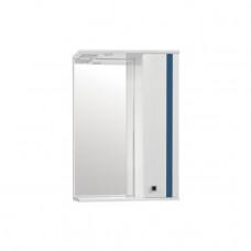 Зеркало-шкаф Флокс 550/С (800*550*200)Сиий(Стиль Лайн)