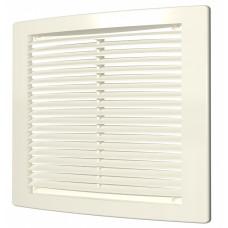 Решетка вентиляционная цилиндрич. с сеткой 440х440 4444РЦ Ivory