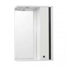 Зеркало-шкаф Флокс 650/С (800*650*200) (Стиль Лайн)