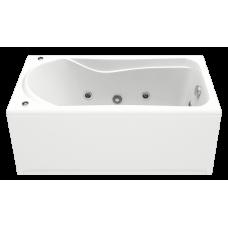 Ванна БРИЗ 1500*750 на каркасе с гидромассажным оборудованием FLAT