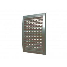 1515РРПН кор, Решетка наружная ASA вентиляционная регулируемая вытяжная 150х150, коричневая