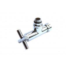Кран угловой 3/4*1/2 Г/Ш (пара) для полотенцесушителя VIEIR VR2034A