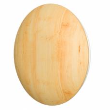 10DM Pine Анемостат с металлиеским фланцем и деревянным обтекателем для бань и саун