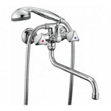 Cмарт-Бейс смеситель для ванны изли 350 мм с аксессуарами SM060002AA