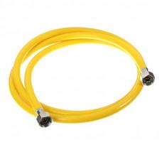 MQXN120 Шланг для газа 1/2 ПВХ 1,2м г/г (евро слот) ViEiR