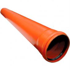 Труба ПВХ.110х3,2-500мм вс SN-8 наружняя