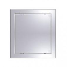 Лючок пластиковый Л 15*15 gray metal