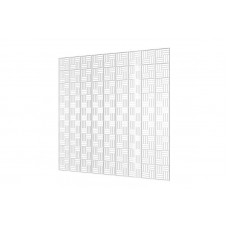 Решетка вентиляционная потолочная П6060ДП Fusion