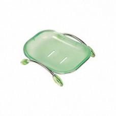 Мыльница Ledeme настольная (зеленый) L333