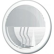 Решетка вентиляционная круглая, разъемная D143 с фланцем D100 10РПКФ,