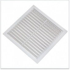 Решетка с москитной сеткой белая 2211С