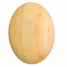 10DM Pine MS Анемостат с метал.фланцем и деревян. обтекат.для бань и саун,сосна с расправл.лапками