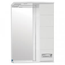 Зеркало-шкаф Ирис 650/С  (730*650*234)  (Стиль Лайн)