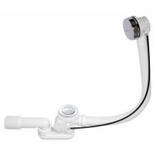 Cифон для ванны автомат комплект металл  Alca plast A55K