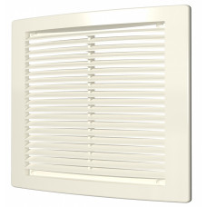 Решетка вентиляционная цилиндрич. с сеткой 150*150 1515РЦ Ivory