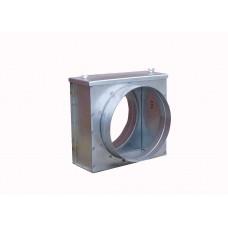 Вентиляция круглый корпус фильтра ВККФ 100/0.7