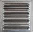 2020МЦ Решетка вентиляционная вытяжная стальная с оцинкованным покрытием