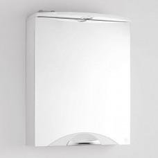 Зеркало-шкаф Жасмин-2 600/С (700*600*154)БЕЛЫЙ (Стиль Лайн)