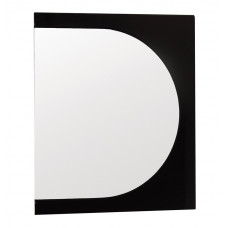 Зеркало Адонис 600 Чёрное (Стиль Лайн)